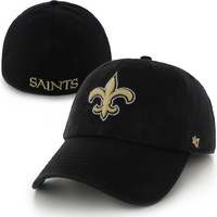New Orleans Saints '47 Brand Franchise Fitted Hat – Black