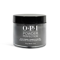"OPI Powder Perfection Dip Powder DPT02 ""Black Onyx"" 1.5 oz"