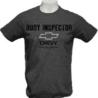 Chevy Body Inspector Mens Tee