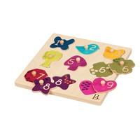Battat B. Eye View Puzzle Plank Toy