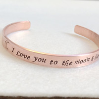 Valentine's Day Gift for her, Personalized bracelet for her, Bridal Gift ideas, Customized Gift for girlfriend, Wedding Gift for her Jewelry
