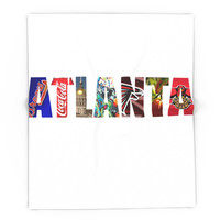 Society6 ATLANTA Blanket