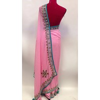 Party Wear Chiffon Saree