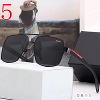 Prada Fashion Men Summer Sun Shades Eyeglasses Glasses Sunglasses