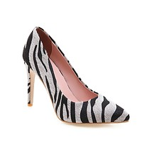 Pointed Toe Ultra-high Heel Pplus Size Women Pumps Stiletto Heel Shoes